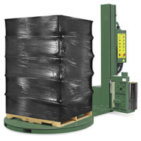 black-machine-wrap