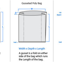 Gusset Bags - All Mil Thickness