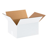 White Stock Boxes