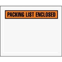 Pack List Envelopes
