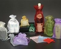Sheer Gift Bags With Ribbon Tie