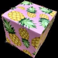 Box_pineapple 6 x 6 x 6